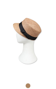 raffia baseball hat