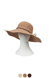 (Encore) standard raffia hat <br> (3 colors)