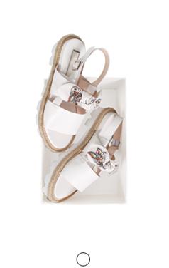 "alicia bow sandals <br> <font color=#82C7E4 size=""1.9"" face=verdana>COLOR ADD</font>"