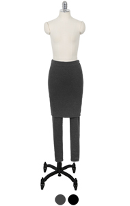 superwarm H-skirt leggings <br> (2 colors)