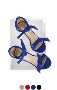 [GOOD PRICE] <br> ALEX bow tie sandals <br> (4 colors)