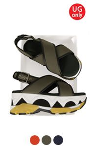 "high platform activity sandals <br> (3 colors) <br> <font color=#82C7E4 size=""1.9"" face=verdana>COLOR ADD</font>"