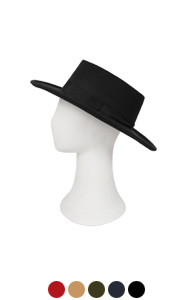 maison wool felt fedora <br> (5 colors)