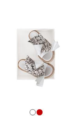 knot & twist sandals