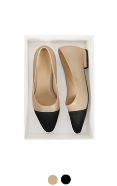 "[GOOD PRICE] <br> feminine captoe flats <br> <font color=#ff9999 size=""1.9"" face=verdana>BEST BUY</font>"