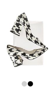charlotte block-heel pumps (pattern)