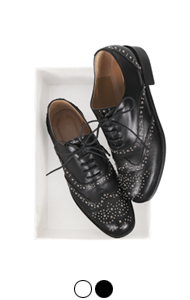 favorite studded oxford shoes