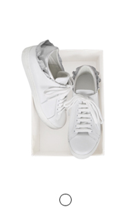 frill back sneakers
