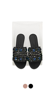 LUXE JEWELLED SLIPPERS