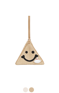 smiley soft clutch