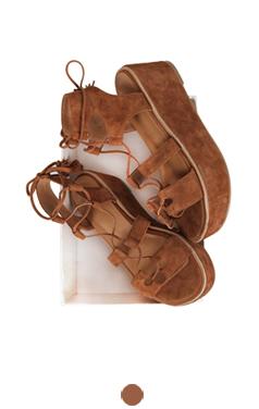 heidi platform sandals