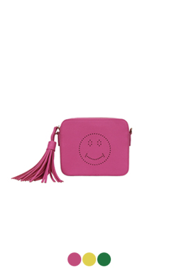 smiley face box bag