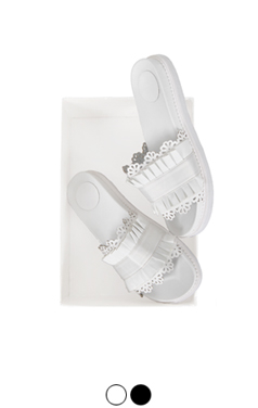 [GOOD PRICE] <br> poolside lacy sandals