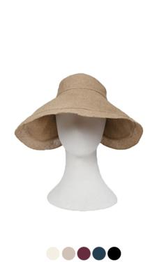 "elegant linen visor hat <br> <font color=#82C7E4 size=""1.9"" face=verdana>COLOR ADD</font>"