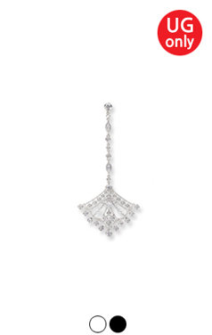 UTG chandelier earring