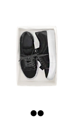 petit bow velvet sneakers