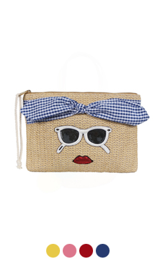 sunglasses applique clutch