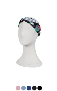 printed turban headband
