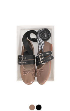 [GOOD PRICE] <br> funky lace-up ballet flats