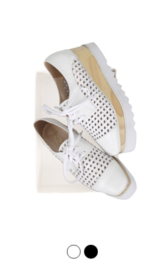 favorite oxford creepers (mesh)