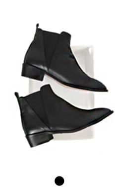 """(Upgrade) ACN jensen chelsea boots <br> <font color=#82C7E4 size=""""1.9"""" face=verdana>COLOR ADD</font>"""