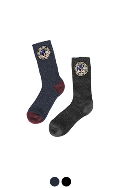 jewelled metalic socks