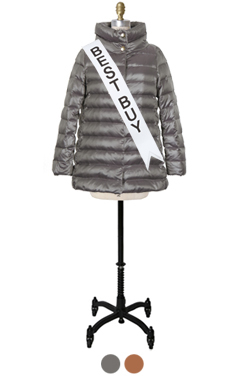 LUXE GOOSE DOWN PUFFER