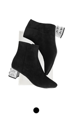luminarie suede ankle boots
