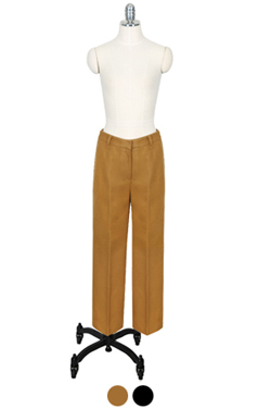 very warm wooly straight pants