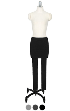 basic skirt leggings