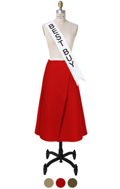 "AVANGARDE HANDMADE SKIRT <br> <font color=#82C7E4 size=""1.9"" face=verdana>SIZE ADD</font>"