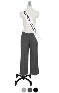 magic-fit woolen pants