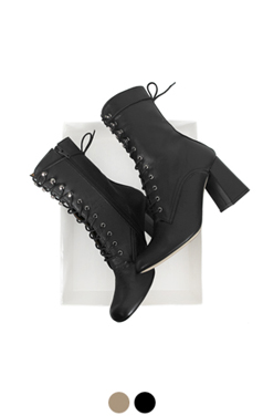 square-toe walker boots