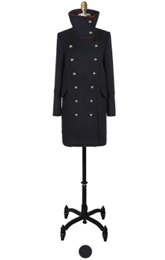 napoleon high neck coat