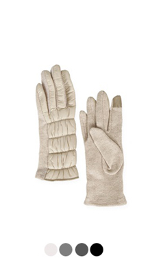 "skinny puffer gloves <br> <font color=#82C7E4 size=""1.9"" face=verdana>COLOR ADD</font>"