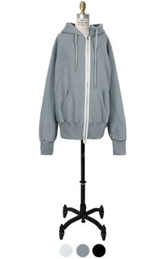 avangarde loose-fit hoodie