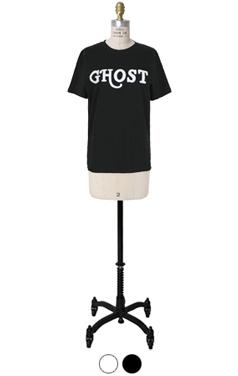 ghost printed tee