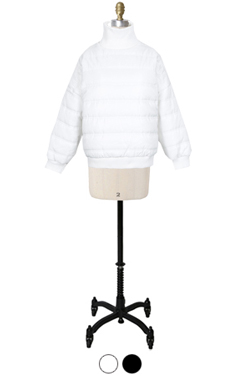 michelle padded pullover