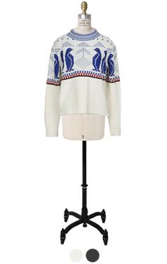 penguin nordic sweater