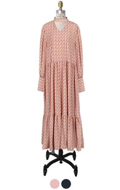 daisy choker dress