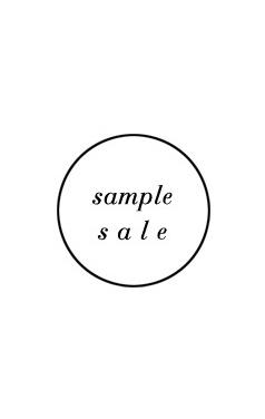 sample sale # 316