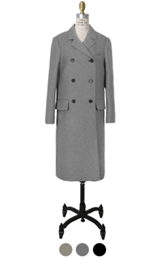 perfectfit double-brested coat