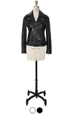 lamb leather rider jacket