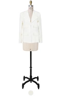 double-pocket tweed jacket