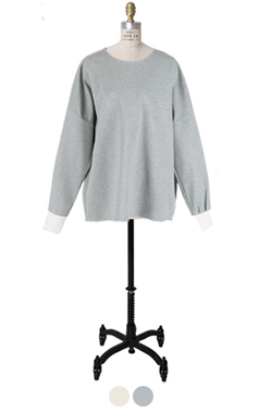 easy-fit ruffle top