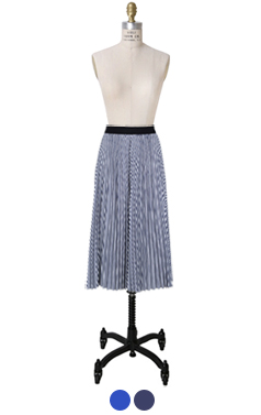 abe pleated skirt