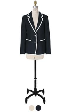 thom preppy linen jacket