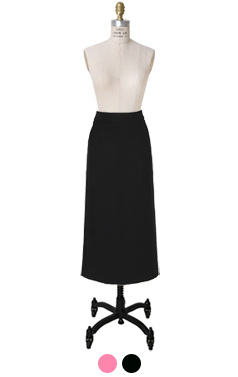 everyday midi pencil skirt
