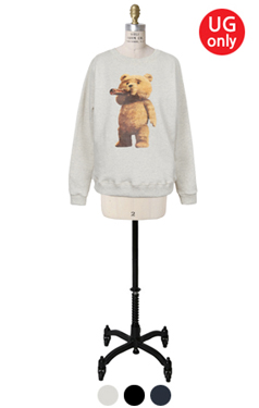 UTG teddybear sweatshirts <br> (2 colors)