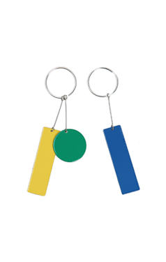 C & C color-block earring